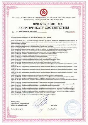 Сертификат на краски водно-дисперсионные (стр. 3)