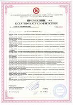 Сертификат на краски водно-дисперсионные (стр. 2)