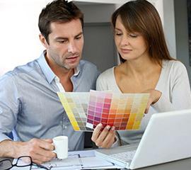 Выбор текстуры (материала) и согласование цвета